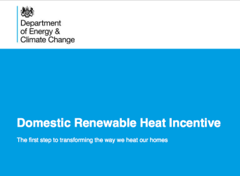 DECC Renewable Heat Incentive Policy