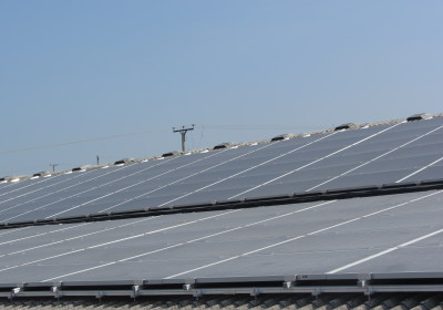 Whitefield Farm solar panels